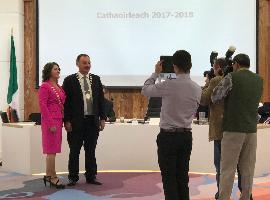 Eileen Mannion becomes Cathaoirleach of County Galway