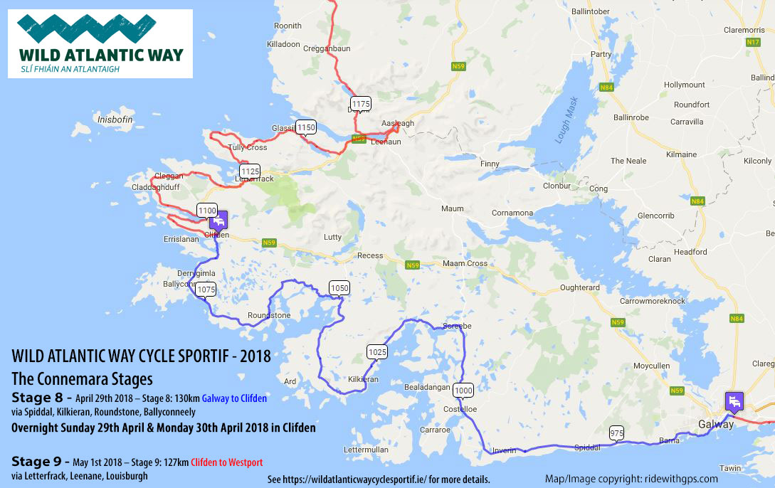 Stage 8 and 9 - Wild Atlantic Way Sportif