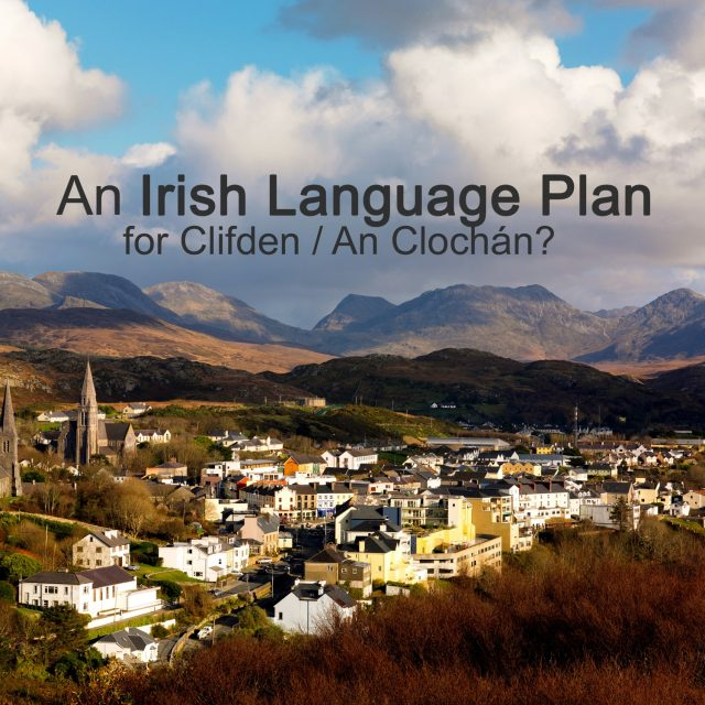 Irish Language Planning for Clifden