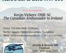 Canadian Ambassador to Ireland Kevin Vickers to Launch Alcock & Brown 100 Festival