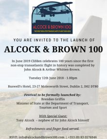 National Press Launch – Alcock and Brown 100 Festival